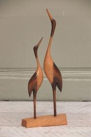 """figurine en bois des années 60 """"těkavý"""""""
