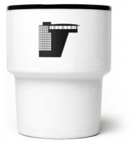 """mamsam - mug en porcelaine """"W-WA"""" - design polonais"""