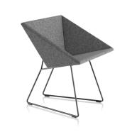 Fauteuil RM57 - gris foncé uni