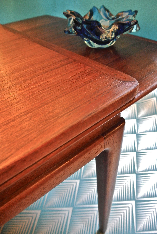 slavia vintage mobilier vintage table basse des ann es 50 dansk. Black Bedroom Furniture Sets. Home Design Ideas