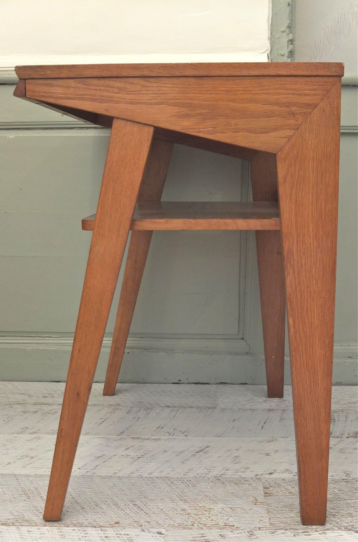 slavia vintage - mobilier vintage - table pieds compas des années 60