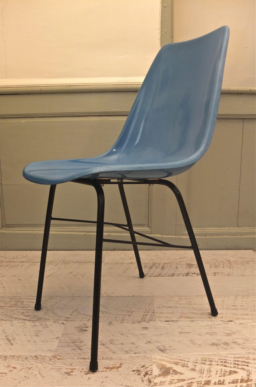 slavia vintage mobilier vintage chaise en fibre de. Black Bedroom Furniture Sets. Home Design Ideas