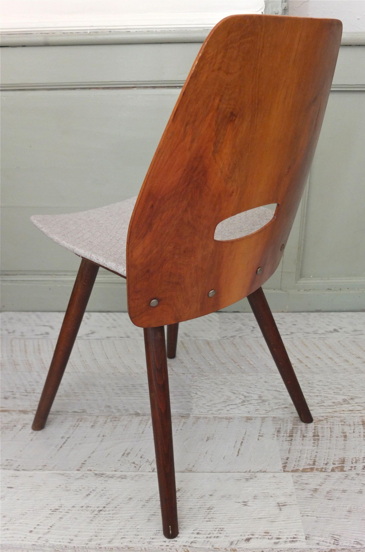 slavia vintage mobilier vintage chaise tatra en bois. Black Bedroom Furniture Sets. Home Design Ideas